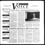 The Wooster Voice (Wooster, OH), 2001-02-08