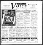 The Wooster Voice (Wooster, OH), 2001-11-01
