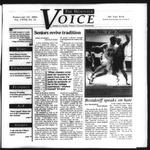 The Wooster Voice (Wooster, OH), 2001-02-15