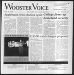 The Wooster Voice (Wooster, OH), 2003-04-25